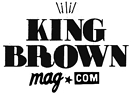 Photo of logo for King Brown Mag