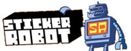 Photo of logo for Sticker Robot